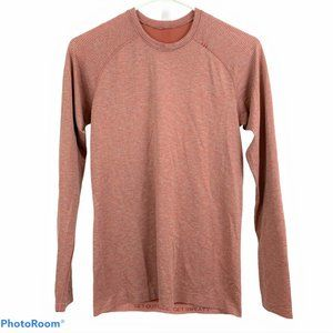 LULULEMON Mens XS Orange Long Sleeve T-Shirt